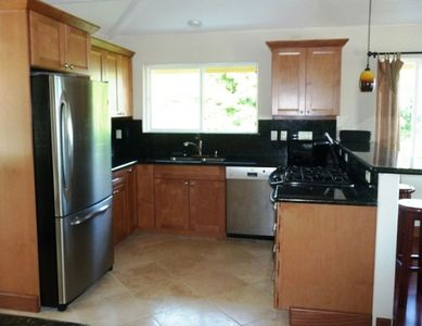 Gourmet Kitchen has D/W, large refrigerator, and is completely equipped!