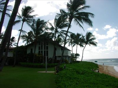 From Kiahuna Plantation's Great Lawn to Building #2 & Beachhouse #5. Exquisite!