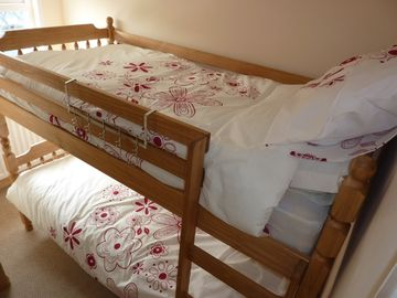 Bunk beds accommodating children only