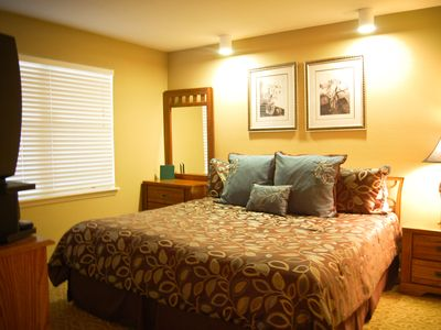 King bedded guest room