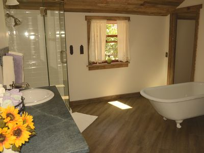 Another view of the main level bathroom