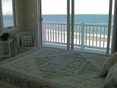 2nd Oceanfront Master Bedroom Suite/ Queen Bed, Private Bath and Private Deck