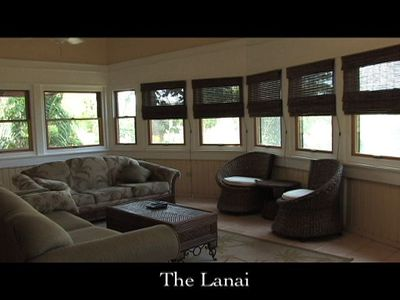 lanai upstairs