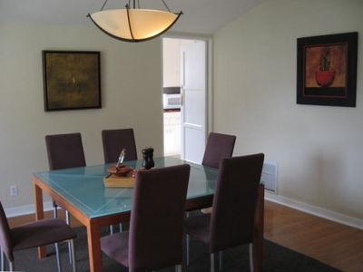 Dining Room with Door to Kitchen
