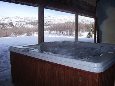 Covered, Private Outdoor Hot Tub