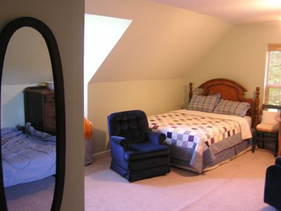 Suches cabin rental - Loft bedroom