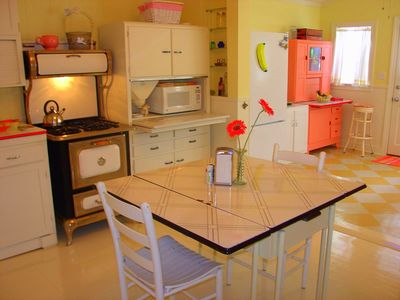 Seagrove Beach house rental - Add'l View Of Our Vintage Kitchen.