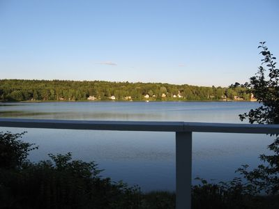 View of Cove from Deck