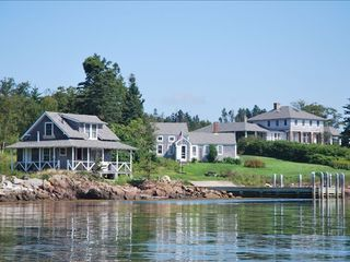 Port Clyde house photo - View of McGee from the harbor