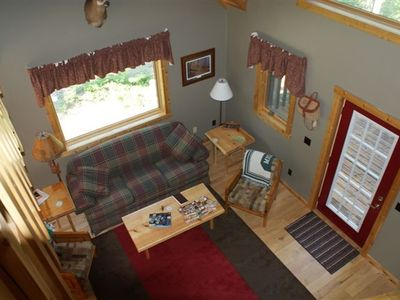 Great Room (view from the loft above)