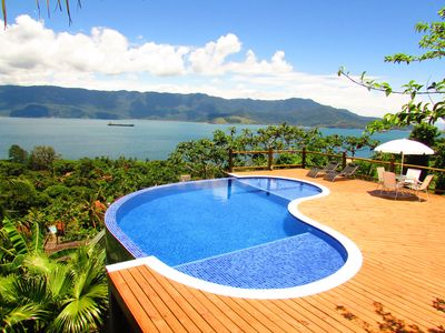 Bungalow Ilhabela with Wonderful Sea View