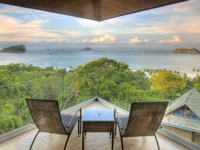 Manuel Antonio villa rental - Incredible View from the Master bedroom - Villa Punto de Vista