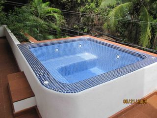 Puerto Vallarta condo photo - Private hot tub.