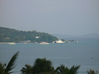 Cape Panwa from entertaining area