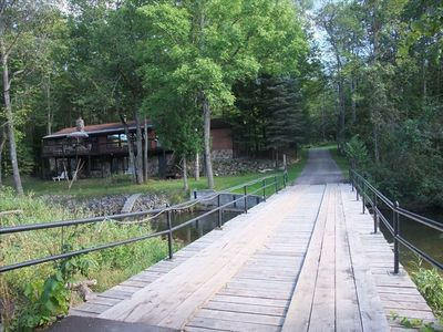 Traverse City cottage rental - Bridge & Cottage