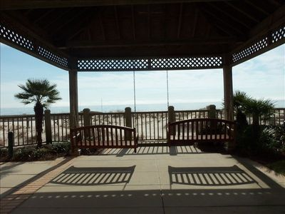 The Swings are Great - Enjoy the Gulf Breeze & View