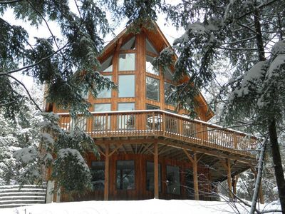 Large Modern Chalet - Slope Side - On Burke MT- Mt Bike, Hike, Ski, Snowmobile