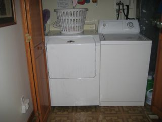 Houghton Lake house photo - Washer and dyer
