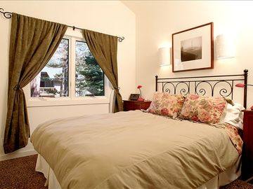 Second Bedroom with a great view & a queen bed