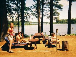 Lake Winnisquam cottage photo - Hanging out