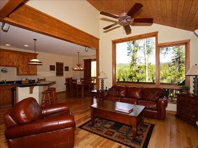 Gather in the cozy Family Room with huge picture windows and open floor plan