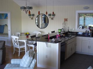 Hall Quarry cottage photo - Kitchen and dining area