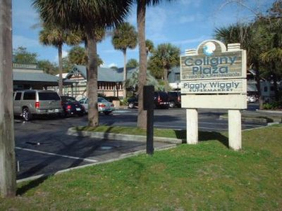 Coligny Plaza only 1/4 mile from our villa - has lots of restaurants and shops!