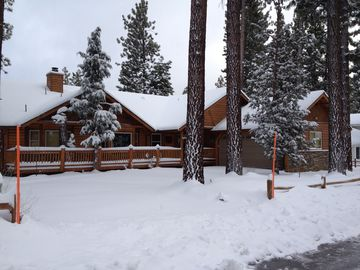Winter Park house rental - Wow, our first big snow storm at the house, and we loved it!