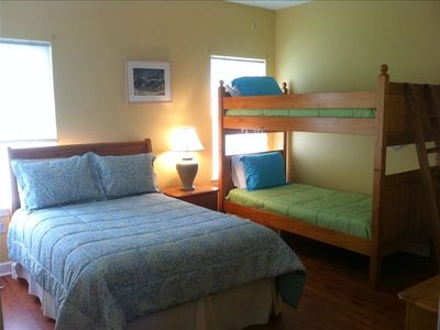 3rd. Bedroom w/bunk bed and Full bed TV and DVD