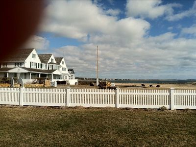 Hyannisport Harbor and the Kennedy Compound