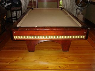 Tampa house photo - Billards room with Antique pool table