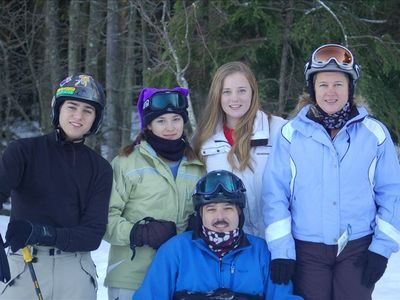 Hannon Family at Snowshoe Mountain - Silver Creek side