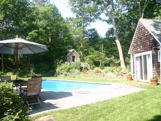 East Hampton house photo - Patio and Pool
