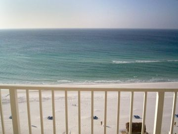 Wonderful View of the Gulf and beach from the Balcony