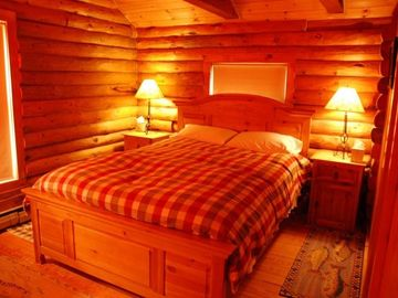 Quechee cabin rental - Master Bedroom