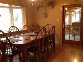 Dining Room, Slider To Three Season Porch