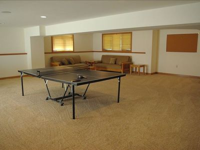 Ping Pong Table lower level