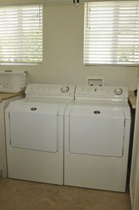 Enclosed Laundry Room