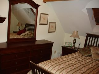 Newbury chalet photo - Upstairs Bedroom