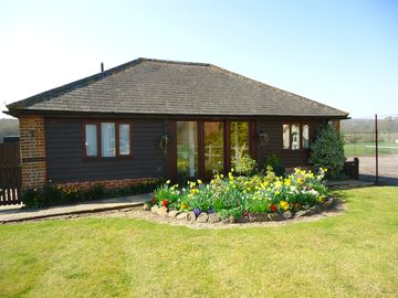 Chichester cottage rental - North View - Front of the Cart Shed