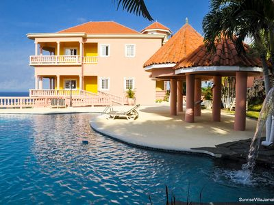 NEW LUXURY VILLA WITH BEAUTIFUL OCEAN VIEW / PRIVAT KITCHEN, BATH, LIVING, POOL