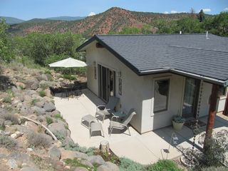 Glenwood Springs cabin photo - Private Patio for Wildlife Viewing & Stargazing