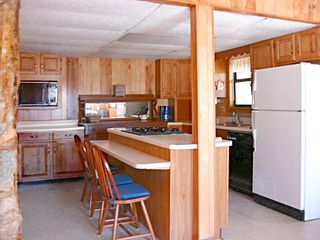 Dillard cabin photo - Complete Kitchen and Full-Size Washer & Dryer Are (to the left, out-of-view).