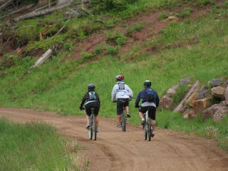 Dolores house photo - Mountain biking in Telluride is a fun way to spend the day.