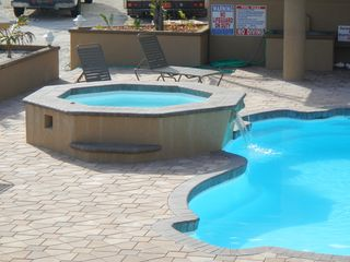 Cayman Brac townhome photo - .Jetted hot tub, relax!