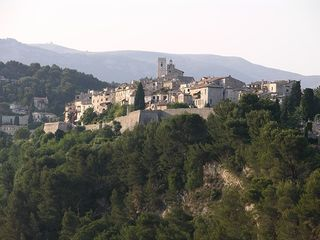 St-Paul-de-Vence apartment photo - View of St. Paul village from the terrace