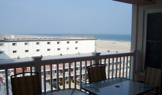 Wildwood Crest condo photo - View from Balcony