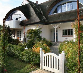4Sterne Luxusapp under thatch for2, Wellness incl, wifi, central and quiet