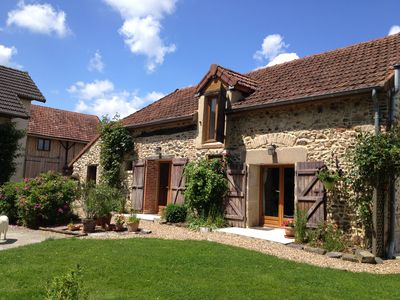 Renovated in 2009, dream view in the heart of Burgundy - La Morvandelle