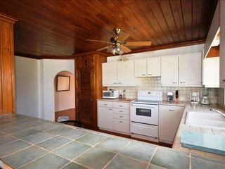 Governor's Harbour house photo - Moden kitchen with ocean views, open to great room